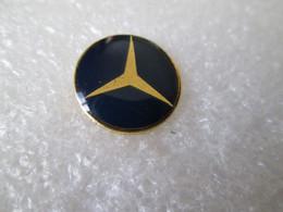 PIN'S    LOGO  MERCEDES BENZ  15mm - Mercedes