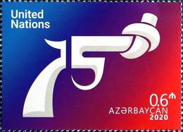 UN United Nation 75th Anniversary Azerbaijan Stamps 2020 Azermarka - Azerbeidzjan