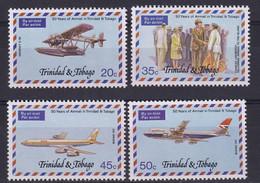 Trinidad & Tobago: 1977   50th Anniv Of Air Service     MNH - Trinidad Y Tobago (1962-...)