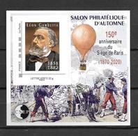 2020 - **MNH - Salon D'Automne, Léon Gambetta - CNEP