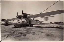 Photo Avion Aviation Base Aérienne D'Agadir Maroc En 1945 - Aviation