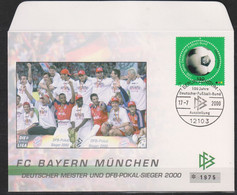 Soccer - Football - Bayern München - GERMANY - FDC Cover - Sin Clasificación