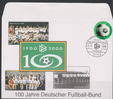 Soccer - Football - 100 Years DFB - GERMANY - FDC Cover - Sin Clasificación