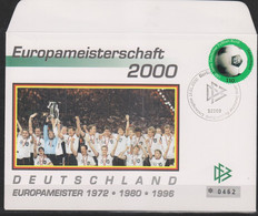 Soccer European Cup 2000- Football - GERMANY - FDC Cover - Eurocopa (UEFA)