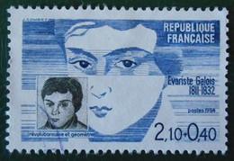 2332 France 1984 Oblitéré Evariste Galois - Used Stamps