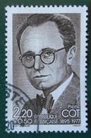 2406 France 1986 Oblitéré Pierre Cot - Used Stamps