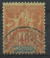 Nouvelle Caledonie (1892) N 50 (o) - Usados