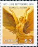 CHILI - Femme Ailée, Symbolisant La Renaissance. - Sonstige