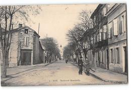 CPA 81 Albi - Boulevard Montebello - Albi