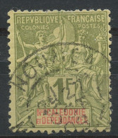 Nouvelle Calédonie (1893) N 53 (o) - Usados