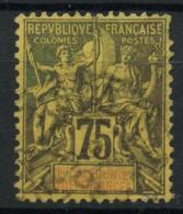 Nouvelle Caledonie (1892) N 52 (o) - Usados