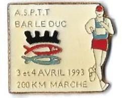 LA POSTE - ASPTT BAR LE DUC - 3 Et 4 Avril 1993 - LP87 - Verso : SM - Mail Services