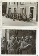 Belgique. Province De Luxembourg. Libramont Ou Environs ? (voir Scan) : 2 Photos 1940 Prises Au Même Endroit. - Lieux
