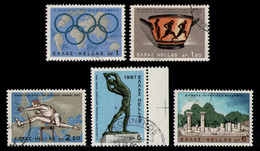 GREECE 1967 - Set Used - Used Stamps