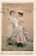 SPECTACLE. OPERA. BERGERADES WATTEAU DANSEES Par LEA Et RENEE PIRON. RACCOMODES. 1903. - Opera
