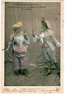SPECTACLE. OPERA. BERGERADES WATTEAU DANSEES Par LEA Et RENEE PIRON. VOUS PERMETTEZ ? 1903. - Opera