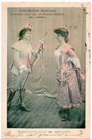SPECTACLE. OPERA. BERGERADES WATTEAU DANSEES Par LEA Et RENEE PIRON. MIREZ-VOUS Dans Ma HOULETTE. 1903. - Opera