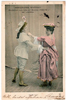 SPECTACLE. OPERA. BERGERADES WATTEAU DANSEES Par LEA Et RENEE PIRON. MENUET. 1903. - Opera