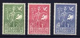 927/929 **  Jeunesse Européenne  Postfris  Sans Charnière - Unused Stamps
