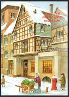 E3409 - Glückwunschkarte Weihnachten - Winterlandschaft - Ohne Zuordnung