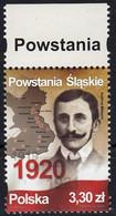 Poland 2020 Silesian Uprisings 1v MNH - Ungebraucht