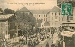CHAMBERY Le Marché Aux Légumes Et Le Lycée  National - Chambery