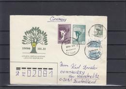 Litauen Michel Cat.No. Postal Stat U2 Used (1) - Lituania