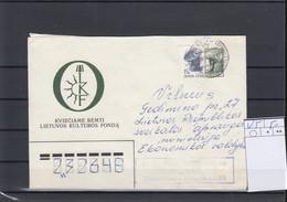 Litauen Michel Cat.No. Postal Stat U5 Used - Lithuania