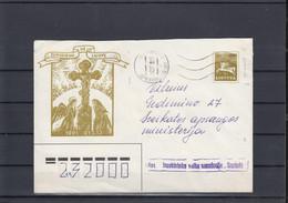 Litauen Michel Cat.No. Postal Stat U10 Used  (2) - Lituanie