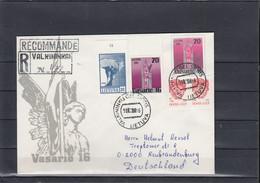 Litauen Michel Cat.No. Postal Stat U12 Used (3) - Lituanie