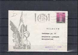 Litauen Michel Cat.No. Postal Stat U12 Used (5) - Lituanie