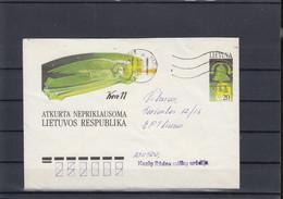 Litauen Michel Cat.No. Postal Stat U13 Used (5) - Lituanie
