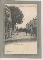 CPA - (24) RIBERAC - Aspect De La Rue De L'Hôpital En 1900 - Riberac