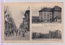 CPA Dpt 57 - METZ - Quartier Desvallières - 39e Régiment D'Artillerie - Militaires - Metz