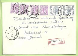 1587+1850 Op Brief Aangetekend Stempel TERVUREN 1  (B432) - 1970-1980 Elström
