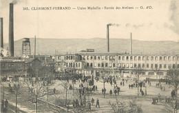 Dep - 63 - CLERMONT FERRAND Usine Michelin Entrée Des Ateliers - Clermont Ferrand