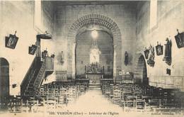 Dep - 18 - VESDUN Interieur De L'église - Sonstige Gemeinden