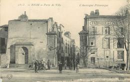 Dep - 63 - RIOM Porte De Ville - Riom