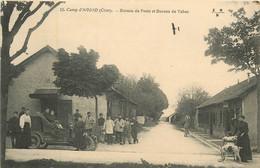 Dep - 18 - Camp D'AVORD Bureau De Poste Et Bureau De Tabac - Avord