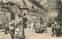 Dep - 59 - LILLE Ecole Nationale D'arts Et Metiers Hall D'ajustage - Lille