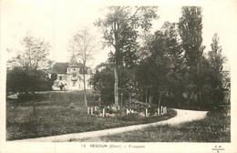 Dep - 18 - VESDUN Frappon Chateau Parc - Sonstige Gemeinden