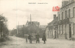 Dep - 03 - TREIGNAT Avenue De La Gare - Other Municipalities