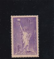 N° 309 - Statue De La Liberté Par F.A. Bartholdi - Timbre Neuf, Côte Yvert Et Tellier 2008, Tome 1 - Nuovi