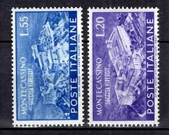 Italie YT N° 602/603 Neufs ** MNH. TB. A Saisir! - 1946-60: Mint/hinged