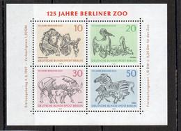 1969 BERLIN Mi N°blok2   **  MNH -  NEUF -  POSTFRISCH - Unused Stamps
