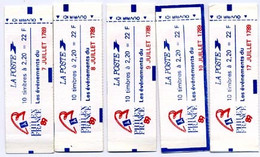 2376 Jeu De 11 Carnets Différents Cote 160-euros (en 2006) - Definitives