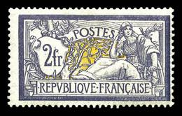 N°122, Merson, 2F Violet Et Jaune, Quasi **. TTB (certificat)  Qualité: *  Cote: 1000 Euros - 1900-27 Merson
