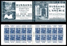 N°257-C1, Série Nancy-A, BUSSANG X4. SUP (certificat)  Qualité: ** - Definitives