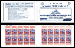N°1234-C2, Série 2-60, ASSURANCE Grles SUR LA VIE, Daté, TB  Qualité: ** - Standaardgebruik