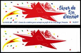 Carnet Croix-Rouge De 1997 Sans Inscription Sur La Couverture. (signé Calves/certificat)  Qualité: ** - Variétés: Carnets